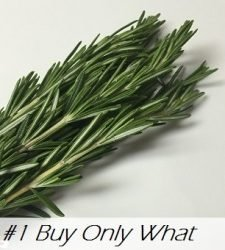 Buy Only What you Need