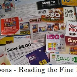Coupons - Reading the Fine Print