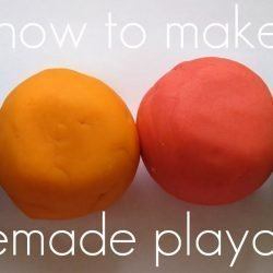Homemade Play Dough for Your Kids